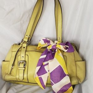 Fossil Satchel with Scarf